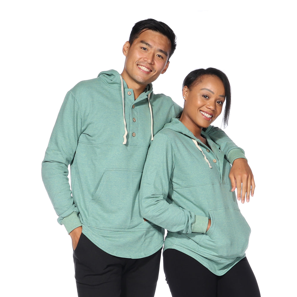 Load image into Gallery viewer, Algonquin Hoodie (Spruce Green)