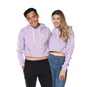 Load image into Gallery viewer, Crop Hoodie (Lavender)