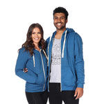 Zip Hoodie (Electric Blue)