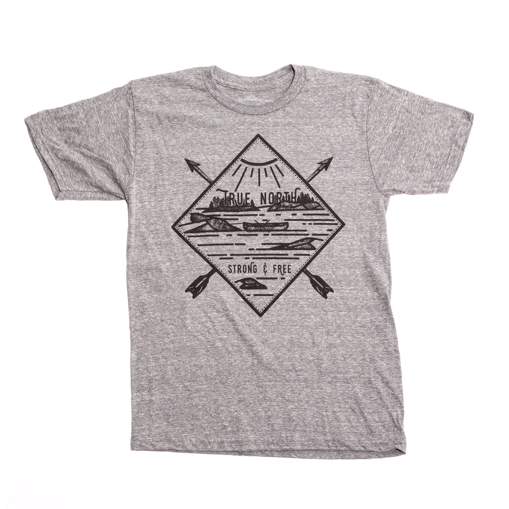 True North Diamond T-Shirt (Grey)