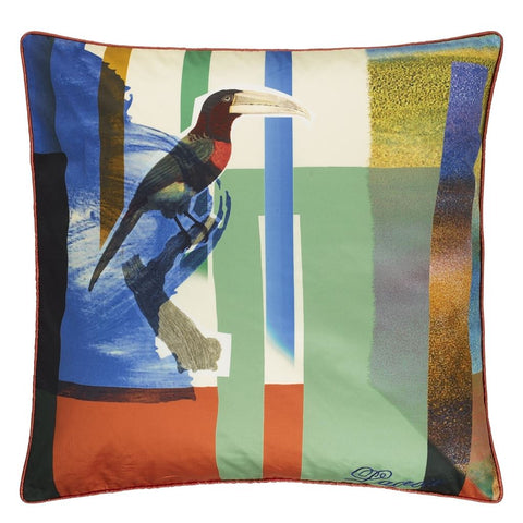 Toucan Mix Multicolore Cushion