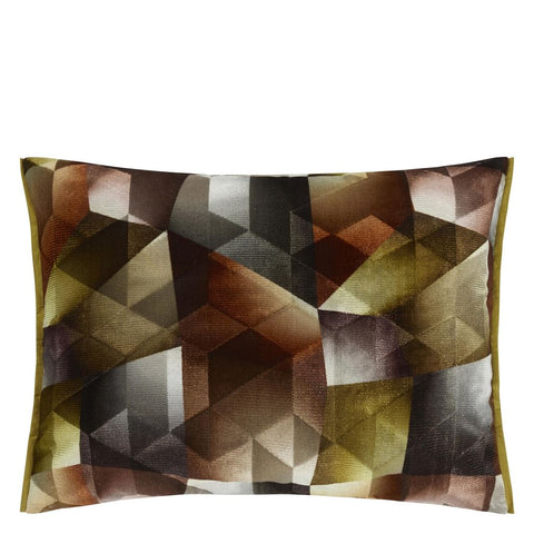 Maurier Ochre Cushion