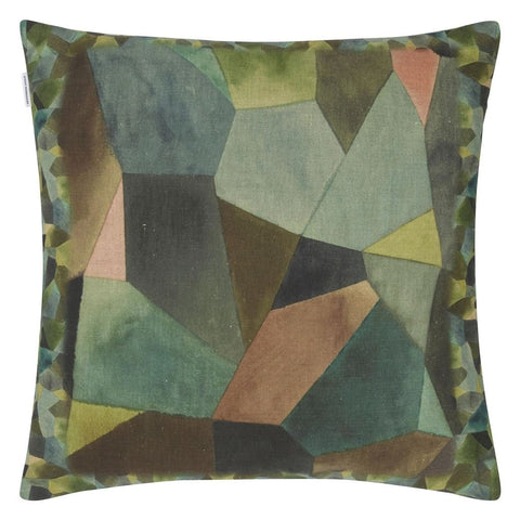 Geo Moderne Bronze Cushion