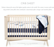 Featherly Crib Sheet