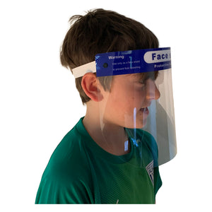 😷100 Children's Face Shields -  Stop Children's Face Shield -  Direct Splash Protection for eyes, nose & mouth