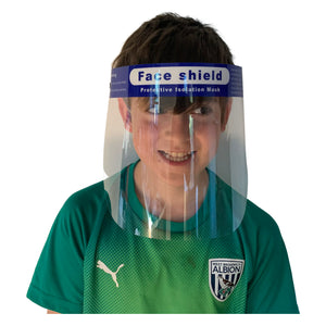 😷 Children's Face Shield -  Direct Splash Protection for eyes, nose & mouth