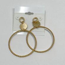 Load image into Gallery viewer, Celebrity Creations Gold Earrings