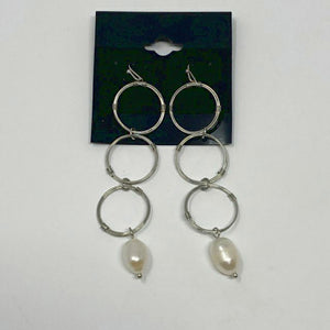 Celebrity Creations Silver Earrings