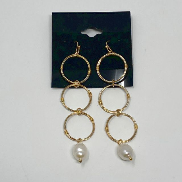 Celebrity Creations Gold Earrings