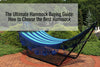 The Ultimate Hammock Buying Guide: How to Choose the Best Hammock