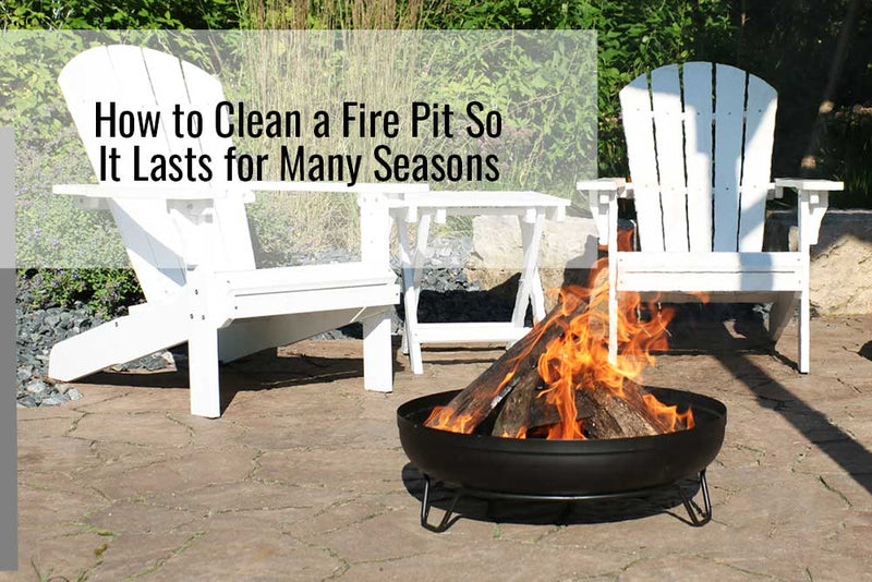 How To Clean A Fire Pit So It Lasts For Many Seasons Sunnydaze Decor