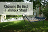How to Choose the Best Hammock Stand