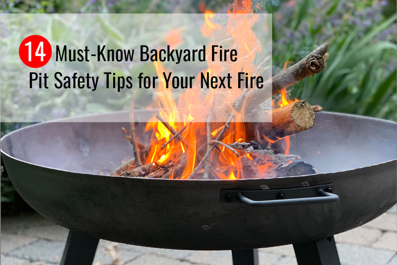 Find out about the 14 must-know backyard fire pit safety tips for your next fire.