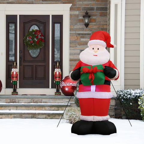 When decorating your room for Christmas, don't forget to add holiday cheer to the yard with a Christmas inflatable as well.