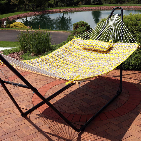 Hammock with comfortable pad & pillow set