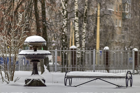 Failing to properly winterize your outdoor fountain can lead to permanent damages.