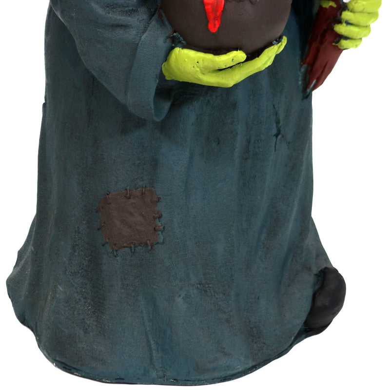 Sunnydaze Gwendolyn the Evil Witch Halloween Large Statue with Built-In Candy Bowl Dish, 28-Inch Tall