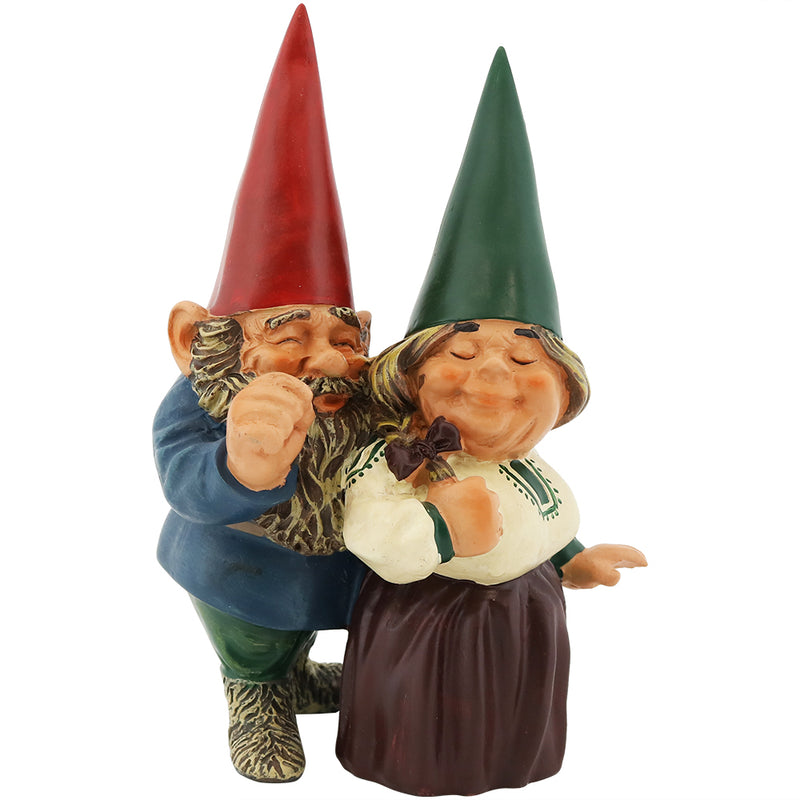 Arnold and Sarah, 8 Inch Tall Gnome by Sunnydaze Decor