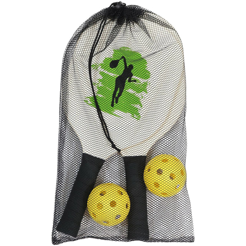 Sunnydaze Portable Pickleball Net, Stand and Game Set, 12-Foot Net