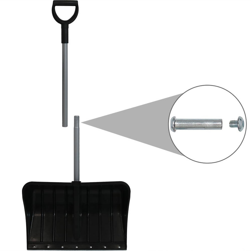 Compact shovel for storage