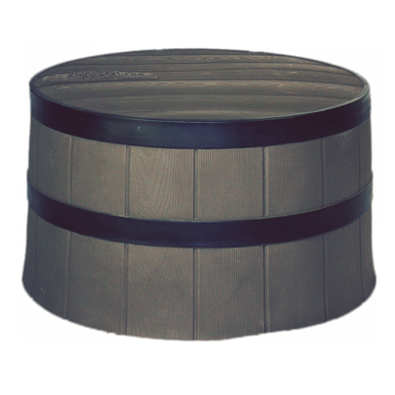 Tanktop Covers Decorative Whiskey Barrel Planter Style