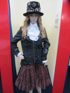 "DAMES STEAMPUNK JAS ""model KALLEBESKE"""