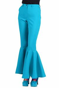DAMES 70e BROEK TURQUOISE