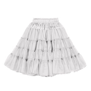 Petticoat 3 laags wit