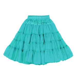 Petticoat 3 laags turquoise