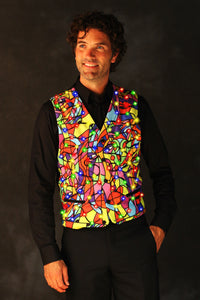 LED VEST PICASSO MULTI