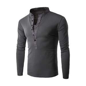 Fashion Urban Slim Layerd-Tactical Long Sleeve Men's Shirt