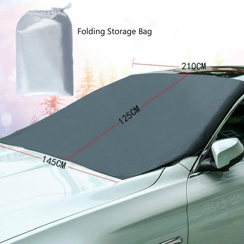 UNIVERSAL PREMIUM WINDSHIELD SNOW COVER SUNSHADE (50% Off  Halloween SALE)