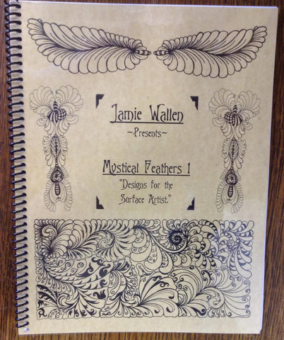 Mystical Feathers Book from Quilter's Apothecary