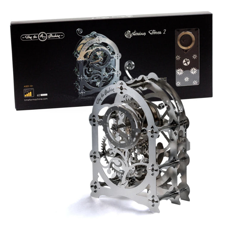 Kit Puzzle Mecanic 3D, Metal, TimeForMachine, Model Cronometru Mysterious Timer 2