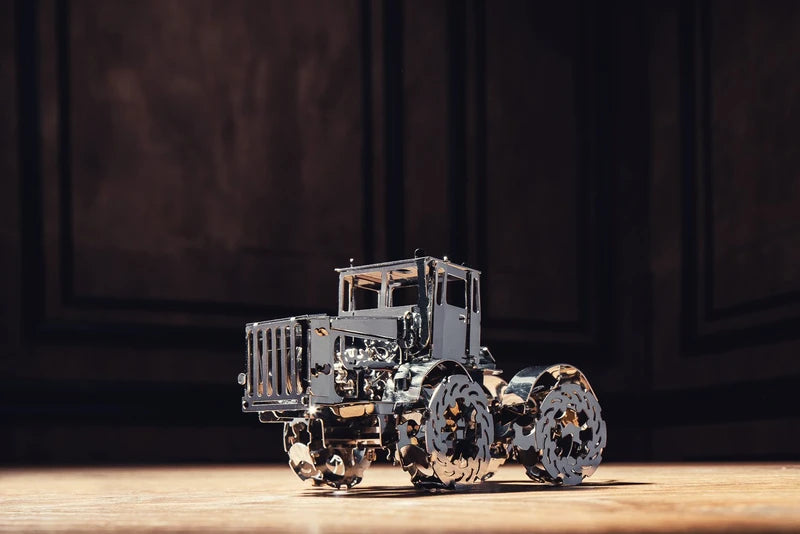 Kit Puzzle Mecanic 3D, Metal, TimeForMachine, Model Hot Tractor