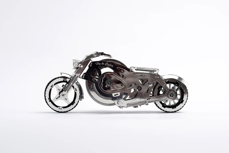 Kit Puzzle Mecanic 3D, Metal, TimeForMachine, Model Chrome Rider