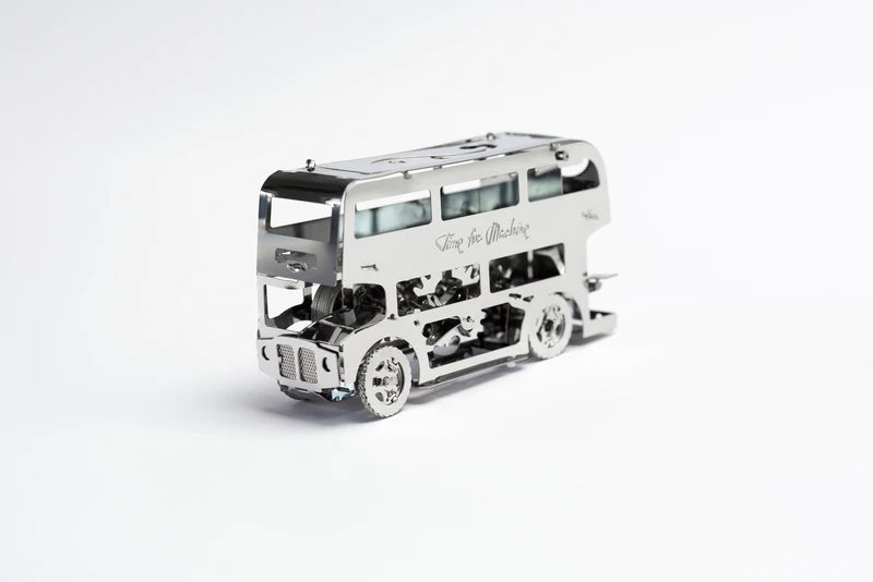 Kit Puzzle Mecanic 3D, Metal, TimeForMachine, Model Cute Double Decker