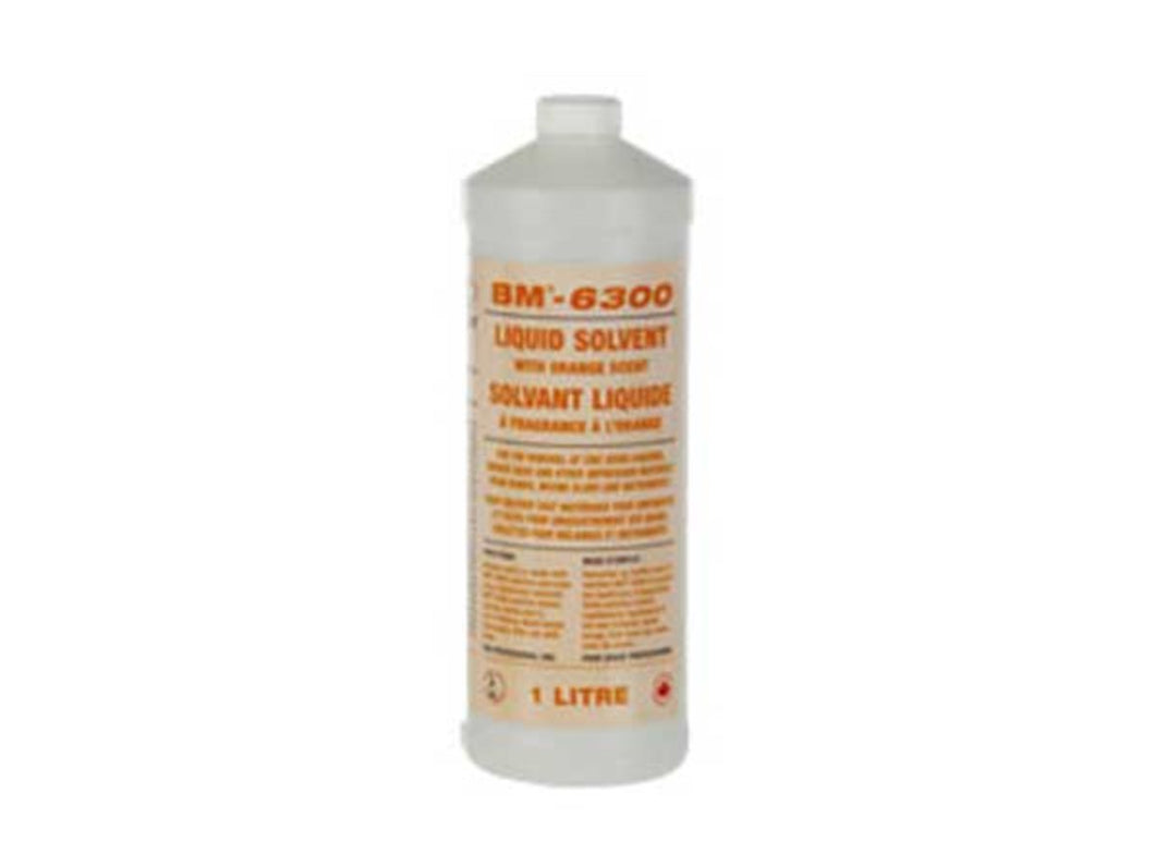 BM-6300 Orange Solvent, 1L Bottle