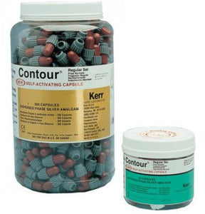 Contour Amalgam Alloy (800mg)  3 Spill 500 Caps/Jar,Regular-Fast Set