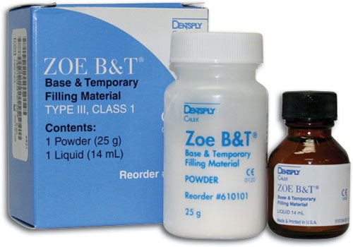 ZOE B&T STD PKG Base & Temporary Filling Material