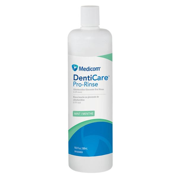 Medicom, Denti-Care, Chlorhexidine Gluconate Mint, 0.12%, 500ml Bottle