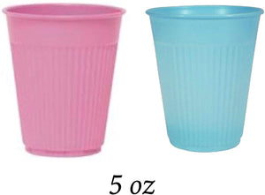 Disposable Plastic Cups 5oz , 1000/Case