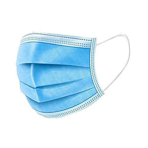 Civil Face Masks Earloop 50/Box Blue PPE