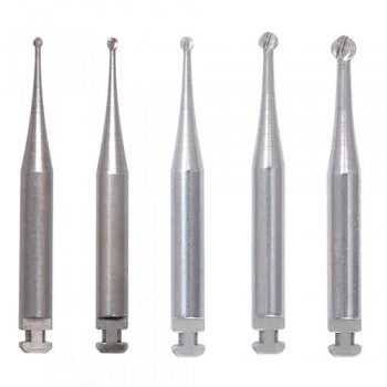 Right Angle Slow Speed RA Latch Type Round Carbide Burs , 10/PK