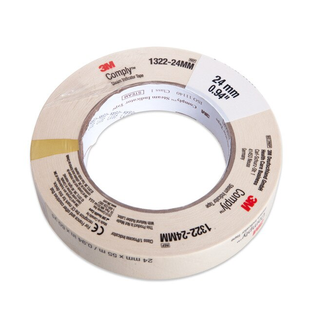 3M, Autoclave Indicator Tape Lead Free , 24mmx55m Roll
