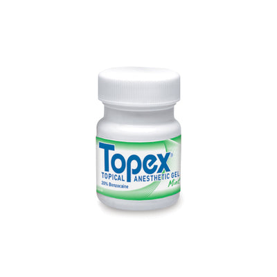 Topex Topical Gel Mint 1oz. (30ml), 1 Jar/Pk
