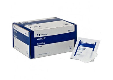 Alcohol Prep Pads ,WebCol, 100/Box M Size