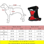 bully no pull dog harness size chart