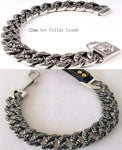 Bully scull collar leash