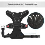 breathable soft bully harness